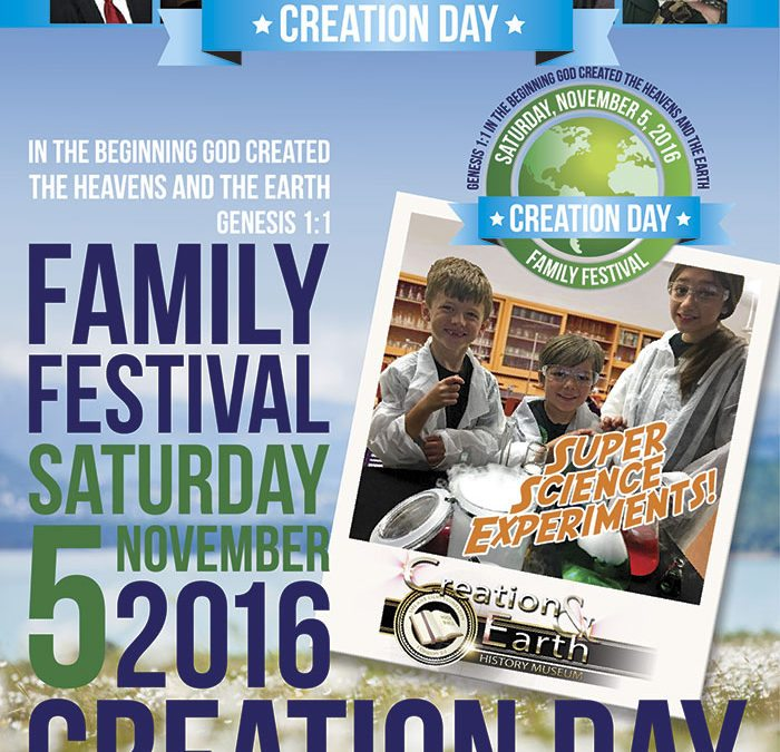 Creation Day Family Festival 2016